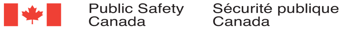 Logo for Canadian Ministry of Public Safety