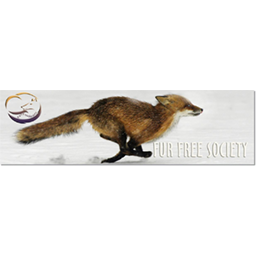 Logo for Fur Free Society